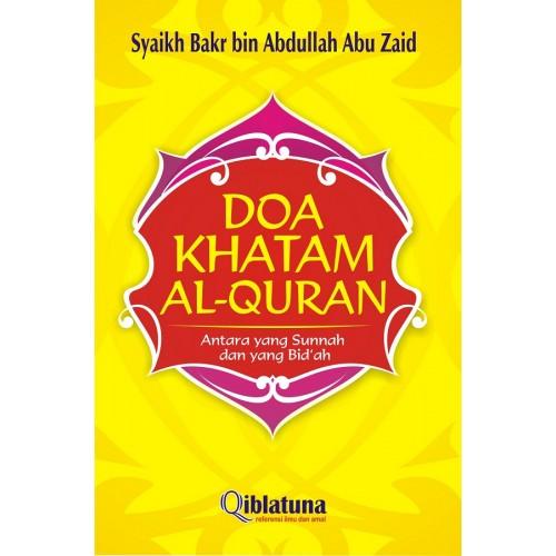 Doa Khatam Al-Qur'an