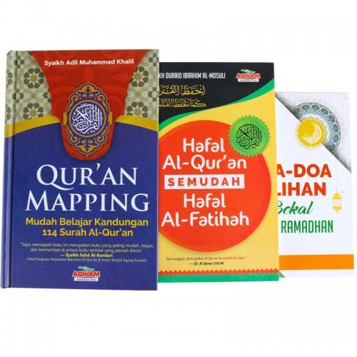 Qur'an Mapping, Hafal Al-Quran, Doa-Doa Pilihan  (3 IN 1)