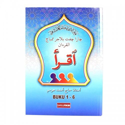 Iqra' Al-Qur'an (Buku 1-6) [Kulit Biru]