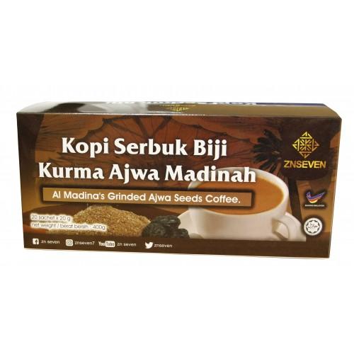 Kopi Serbuk Biji Kurma Ajwa Madinah (Pack)