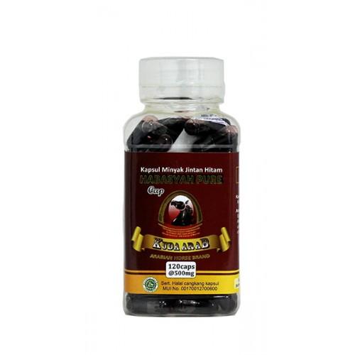 Habasyah Pure Kuda Arab - (120 Kapsul)